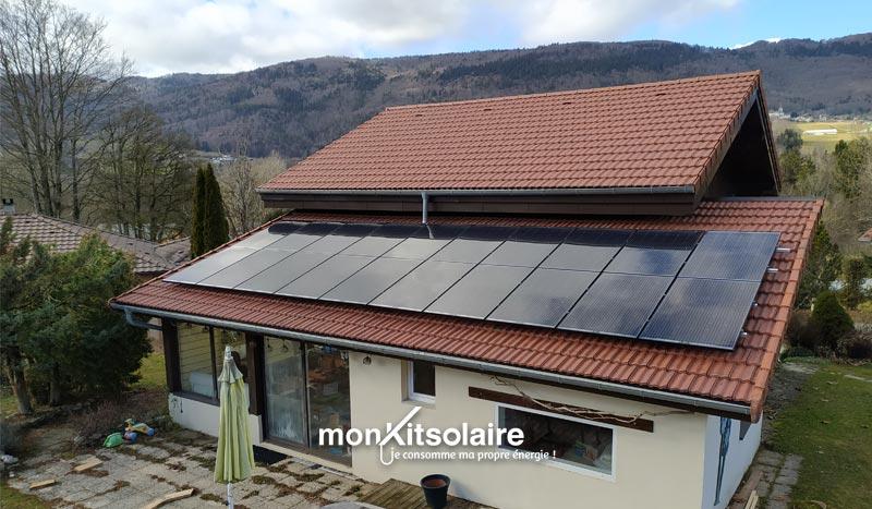 Installatiion du kit solaire autoconsommation 6000 W en Haute-Savoie