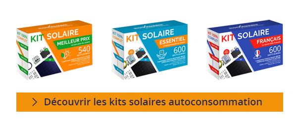 Découvrir nos kits solaires autoconsommation