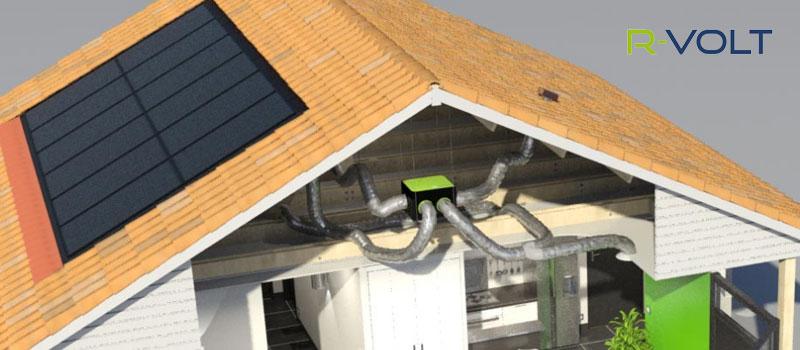 Différents types de panneau : le panneau aérovoltaique