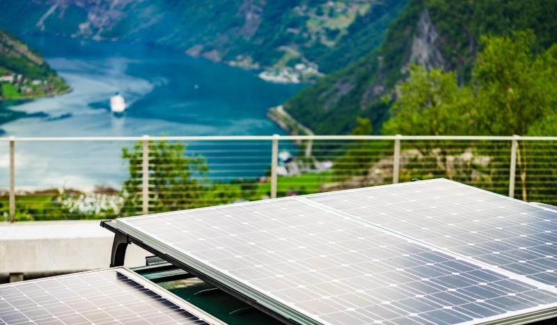 Kit panneau solaire caravane avec batteries