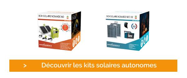 Cliquez et découvrez le kit solaire autonome de Mon Kit Solaire