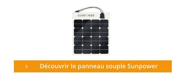 Découvrez le panneau souple SunPower
