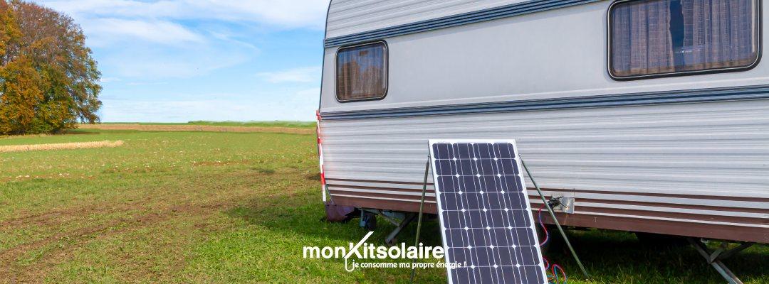 Panneau solaire pour caravane : votre nouveau compagnon de travail