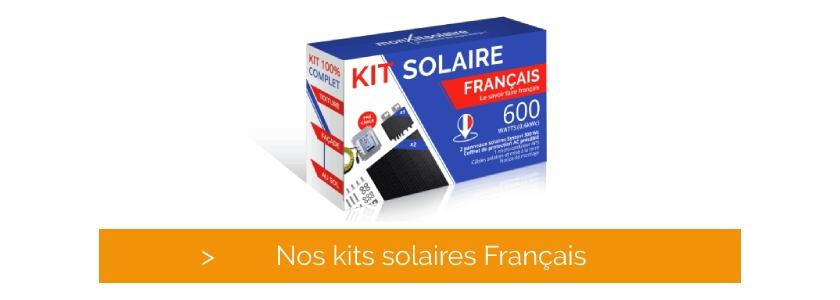 Découvrez nos kits solaires de qualité française