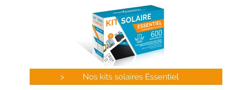 Cliquez et découvrez nos kits solaires essentiels