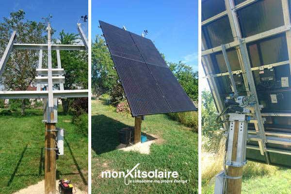Le suiveur solaire sur mesure de Pascal