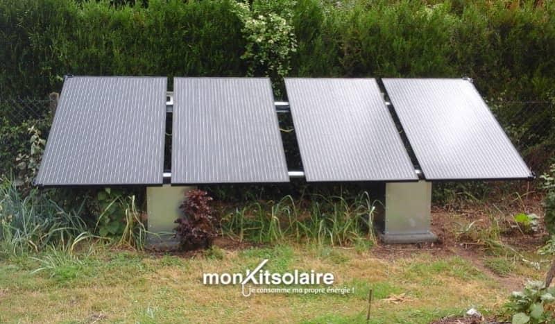 Installation kit solaire français 1320 Wc