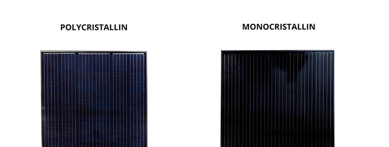 Installation panneau solaire monocristallin polycristallin