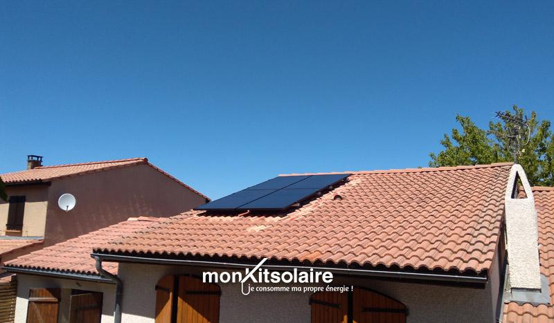 installation de panneaux solaires de Noêl