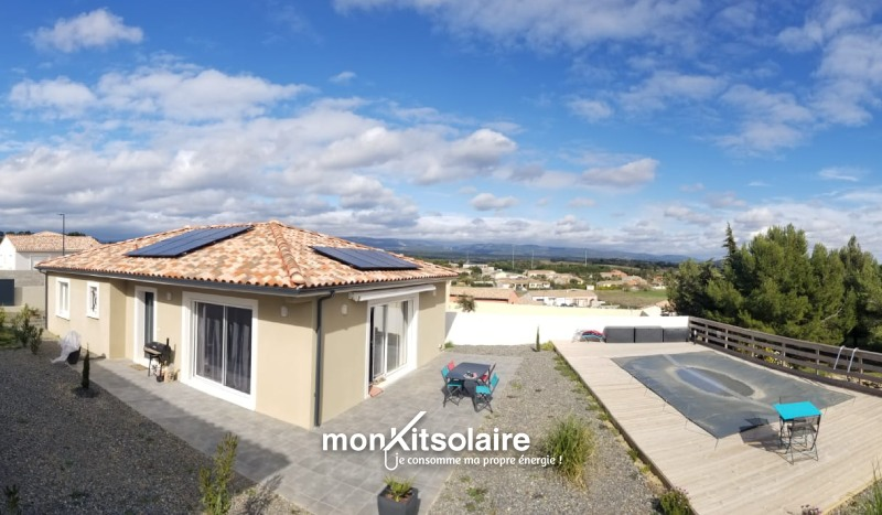 Kit solaire pas cher, puissance 2700 W