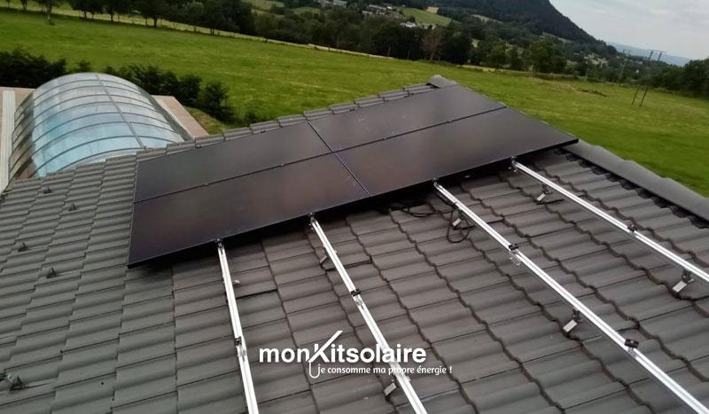 installation panneaux solaires sur le toit de Stéphane
