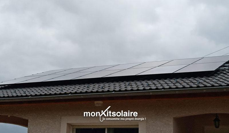 Panneaux solaires de Stéphane
