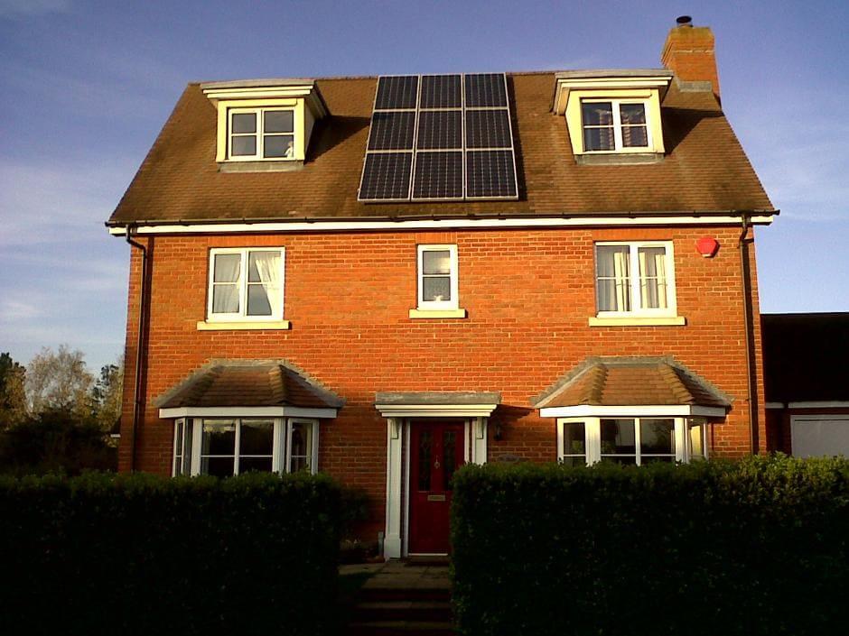 kit panneau solaire et ombre