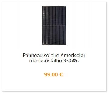 panneau-solaire-amerisolar-330