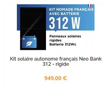 panneau-solaire-appartement-nomade-francais-rigide-312w