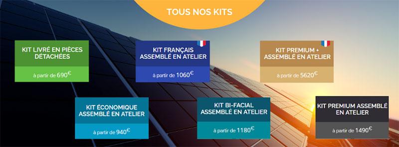 Simulateur solaire kits