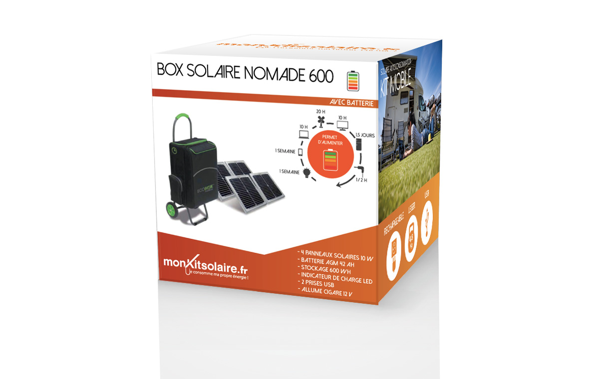 MA BOX SOLAIRE NOMADE 600
