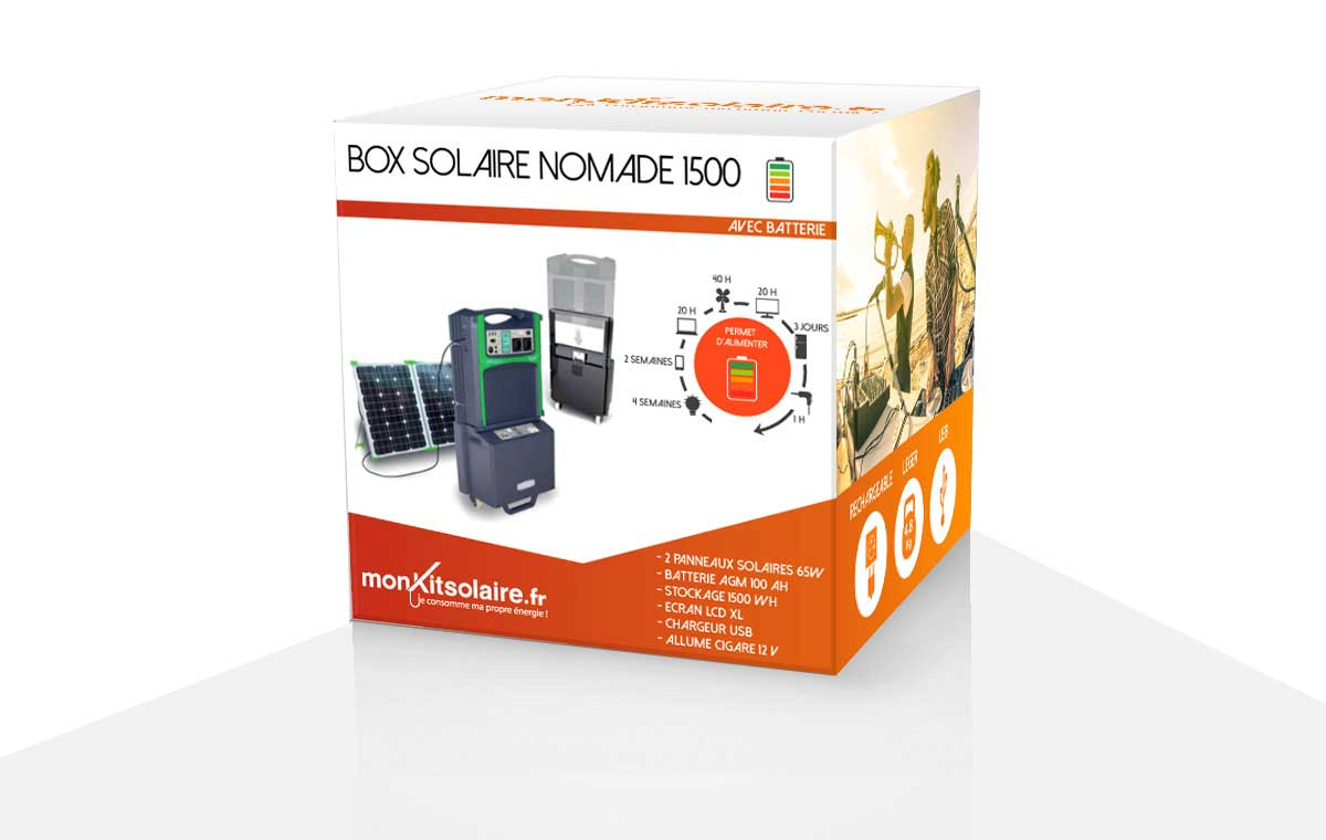 MA BOX SOLAIRE NOMADE 1500