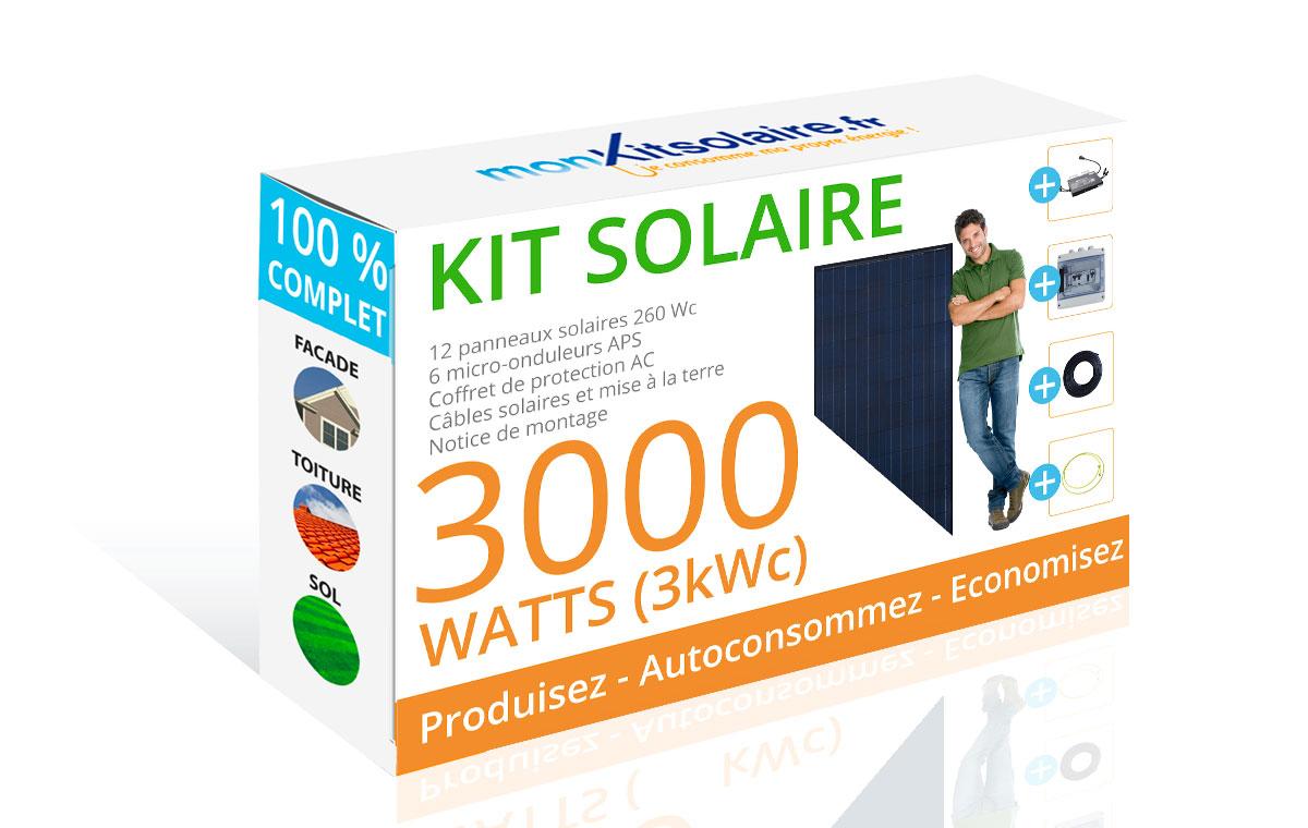mon kit solaire sp cialiste du kit solaire et du panneau solaire. Black Bedroom Furniture Sets. Home Design Ideas