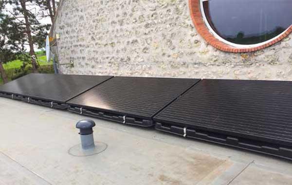 fixations pour kit panneau solaire toiture en tuile en t le en ardoise platefixations pour. Black Bedroom Furniture Sets. Home Design Ideas