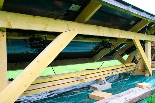 photo de l 39 installation du kit solaire autoconsommation poser soi m me pos par andre. Black Bedroom Furniture Sets. Home Design Ideas