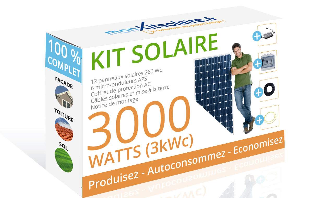 kit solaire autoconsommation complet