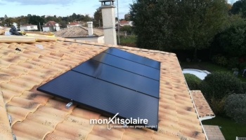 Installation du kit solaire autoconsommation 2400 W – Gironde