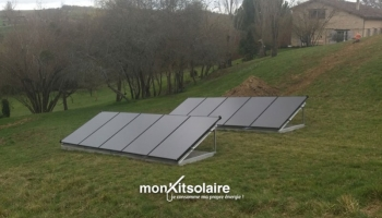 Installation du kit solaire autoconsommation 3000 W – Jean-Pierre, Gironde